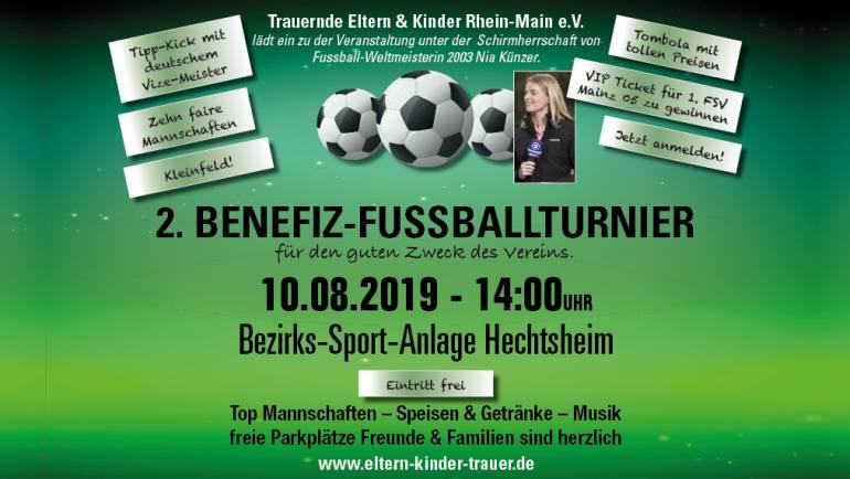 2. Benefiz-Fussballturnier am 10.08.2019