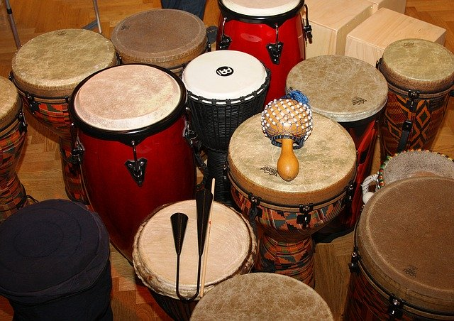 Trommeln für Kinder und Erwachsene