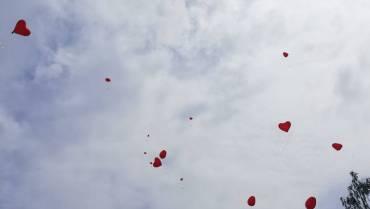 Luftballon Steigen 2021